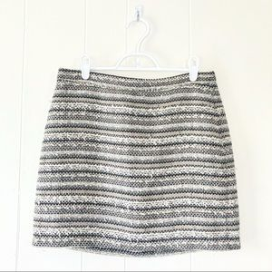 Madewell Tweed Multicolored Mini Skirt